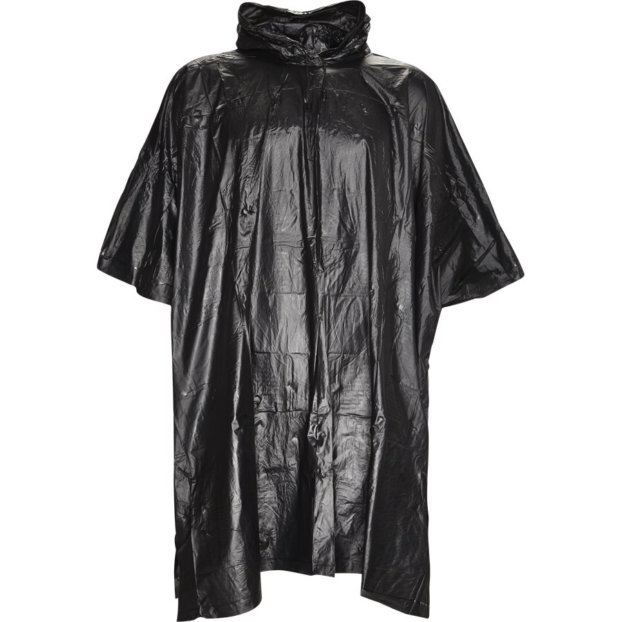 PONCHO - PONCHO - Accessories - Loose - SORT - 1