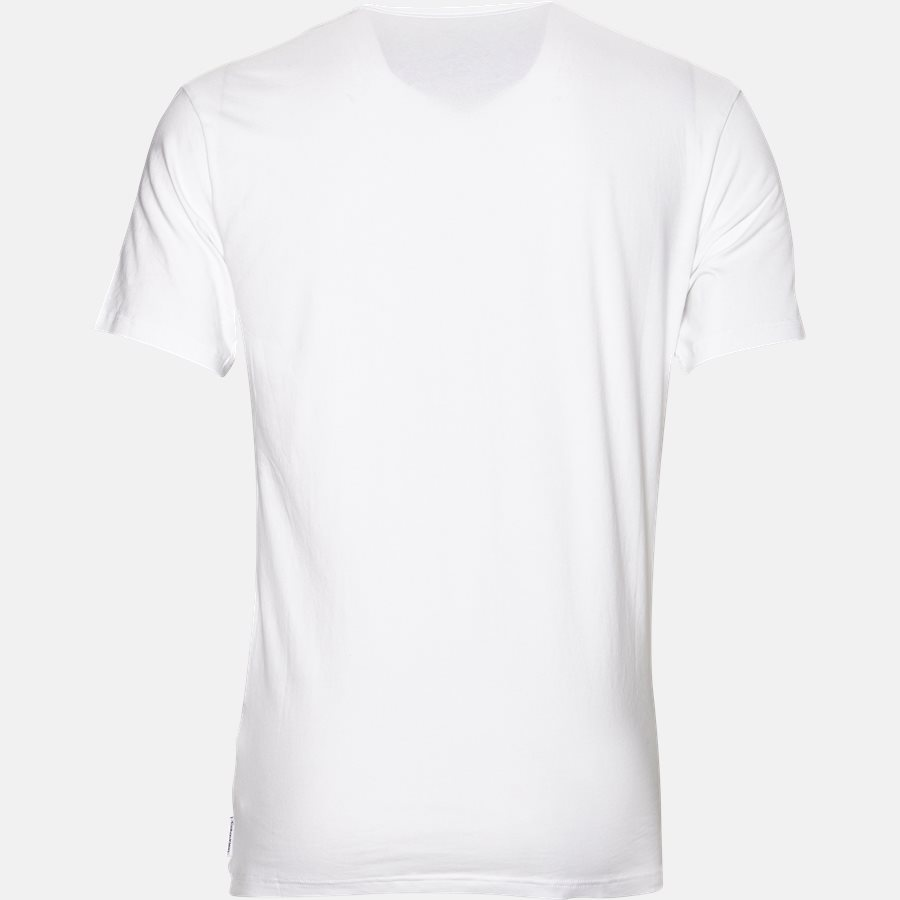 NB1089A V-NECK - NB1089A V-NECK t-shirt - Undertøj - Slim - WHITE - 3