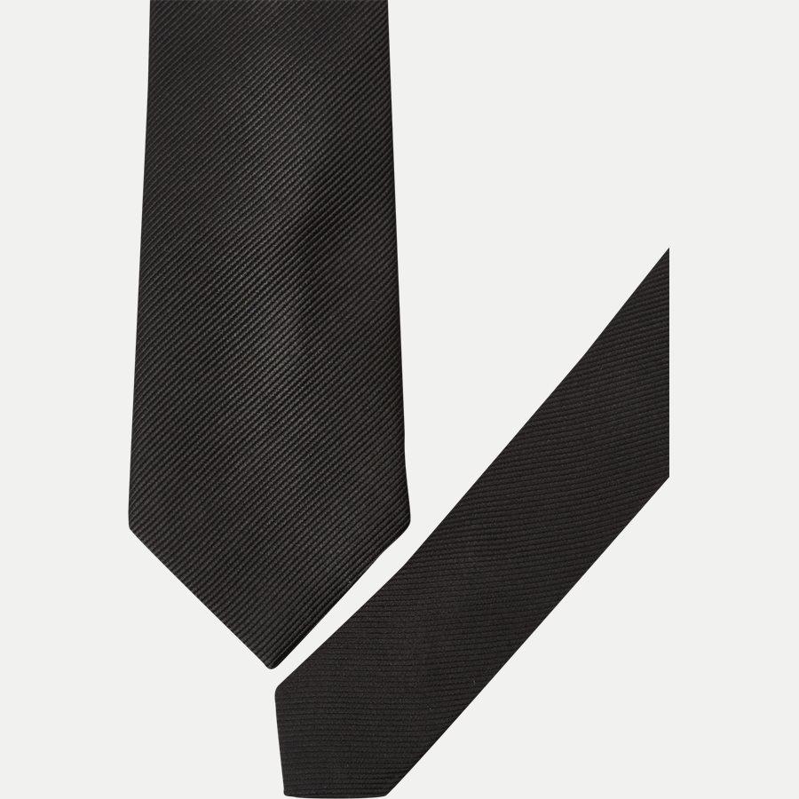 9005CR - Krawatten - SORT - 2