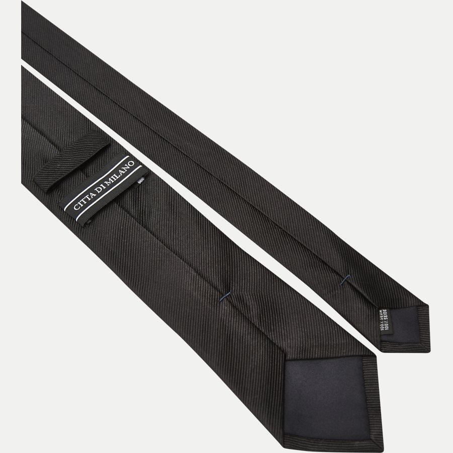 9005CR - Krawatten - SORT - 3