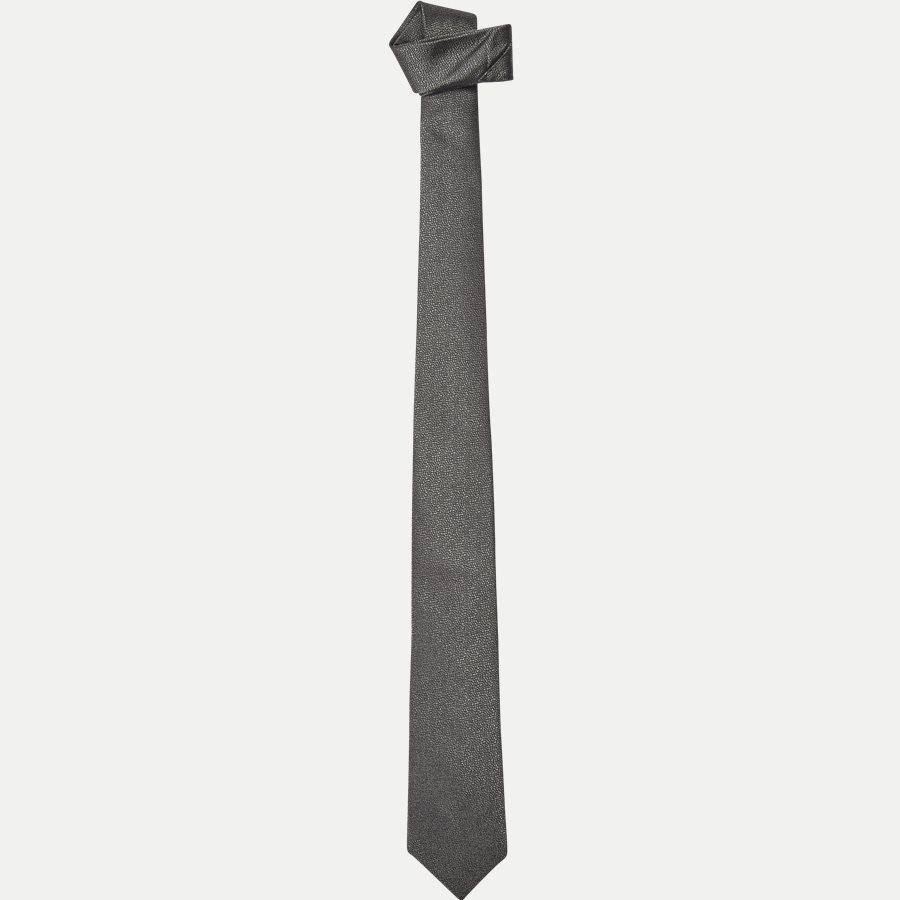 DES:334 - Krawatten - GRÅ - 1