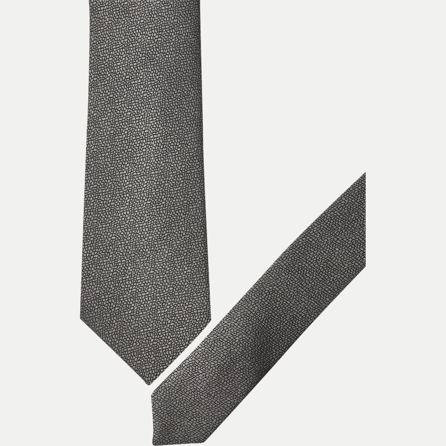 DES:334 - Krawatten - GRÅ - 2