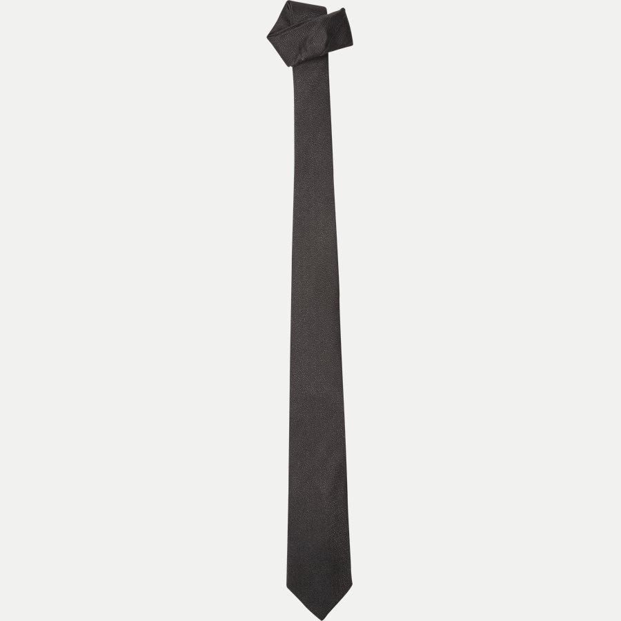 DES:334 - Krawatten - SORT - 1