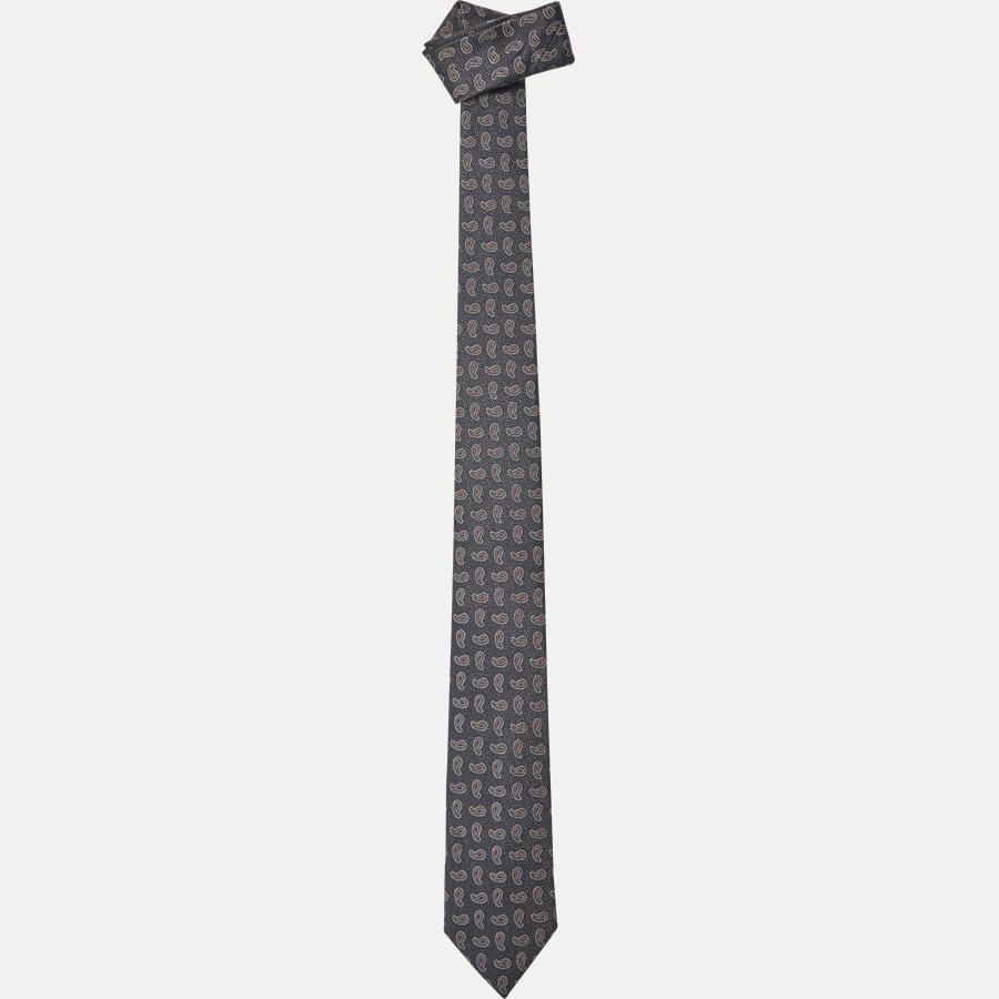 DES: 305 - Krawatten - GRÅ - 1