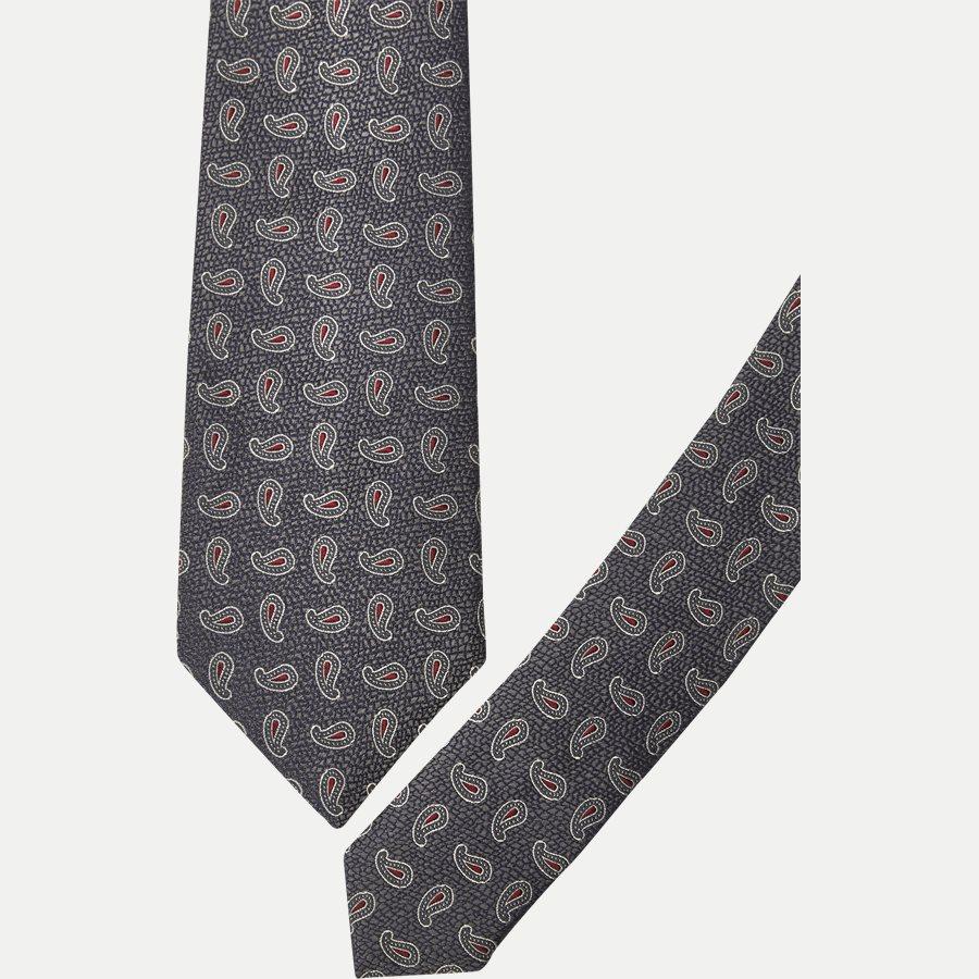 DES: 305 - Krawatten - GRÅ - 2