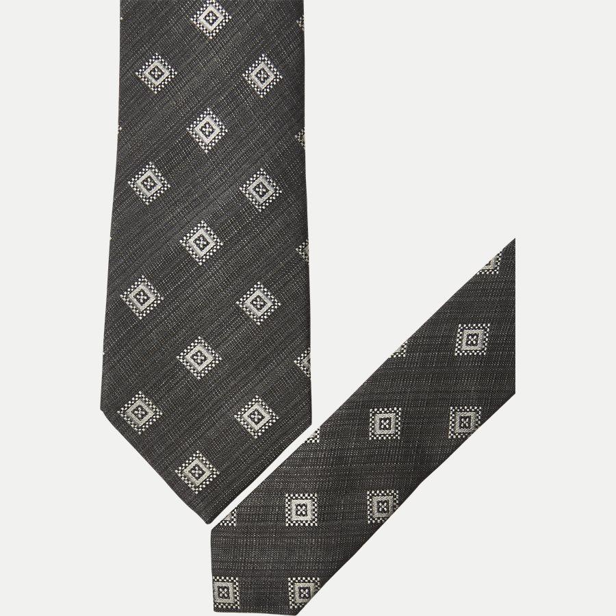 K542 - Krawatten - GRÅ - 2