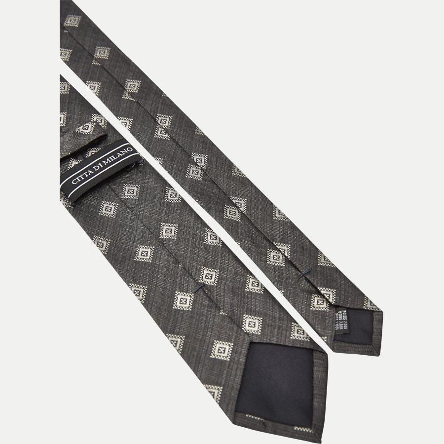 K542 - Krawatten - GRÅ - 3