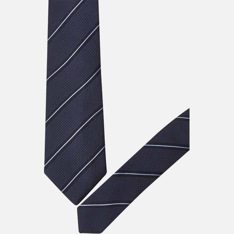 DES:KF10154BL - Krawatten - NAVY/BLÅ - 2