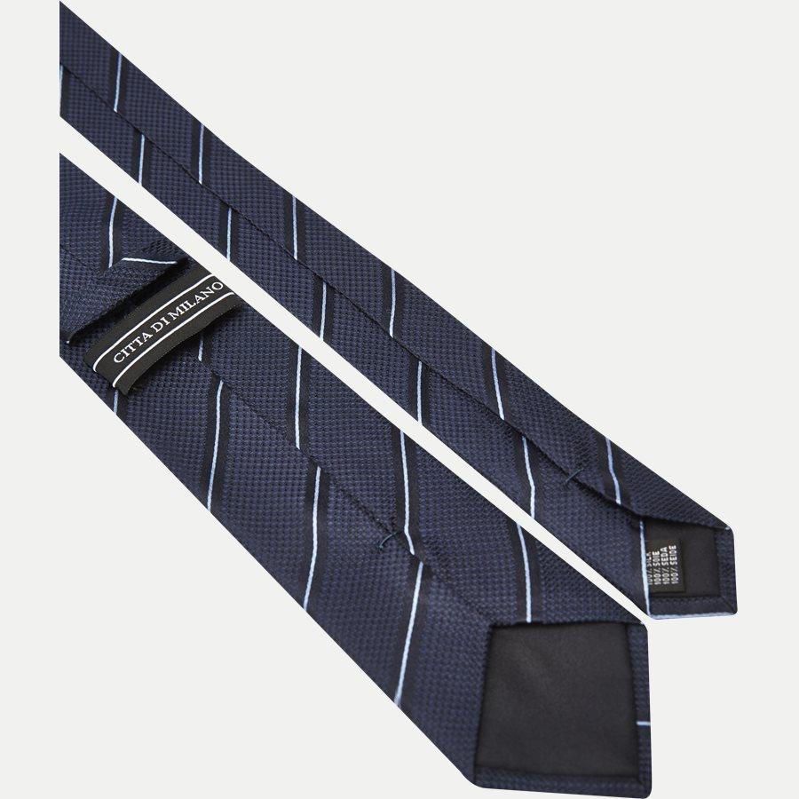 DES:KF10154BL - Krawatten - NAVY/BLÅ - 3