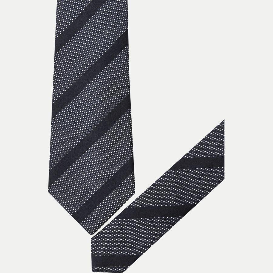 9098CR-1001 - Krawatten - NAVY - 2