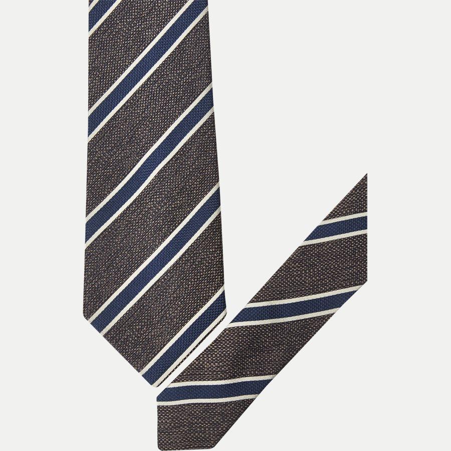DES#JO23 - Krawatten - BRUN - 2