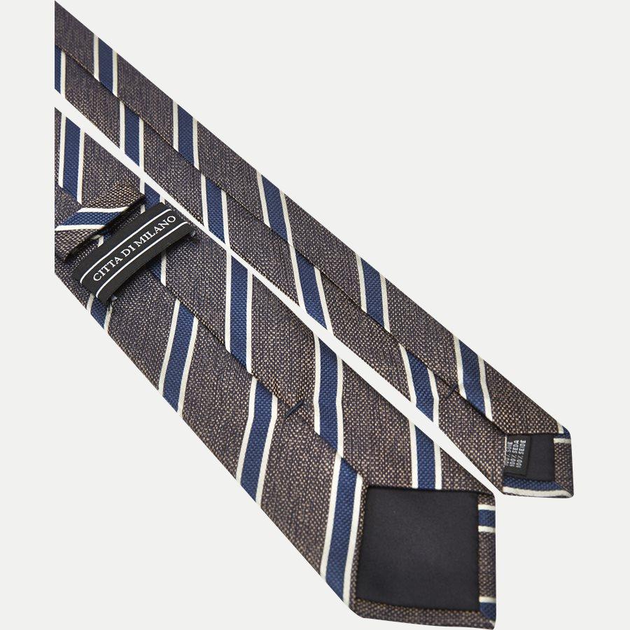 DES#JO23 - Krawatten - BRUN - 3
