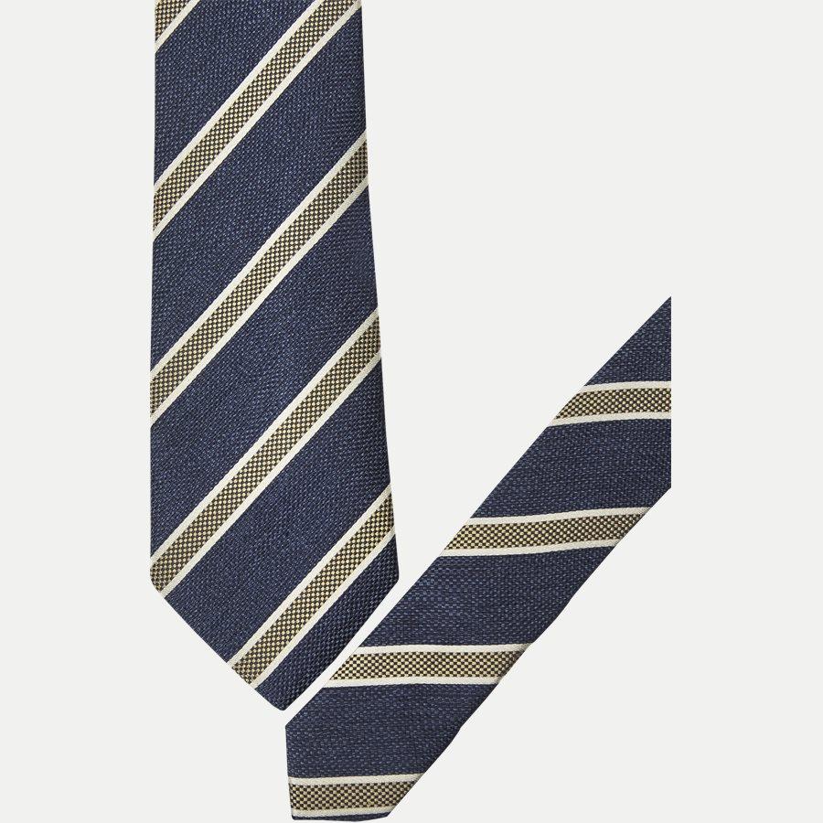 DES#JO23 - Krawatten - NAVY - 2