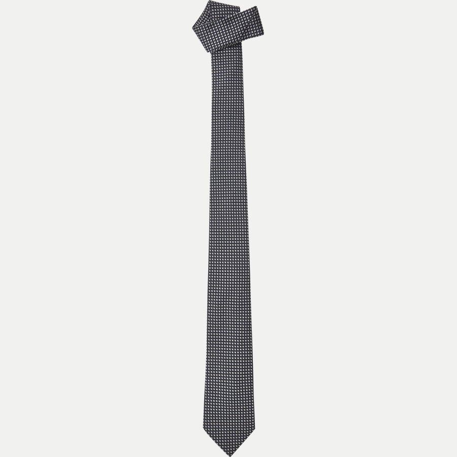 9088CR - Krawatten - NAVY - 1