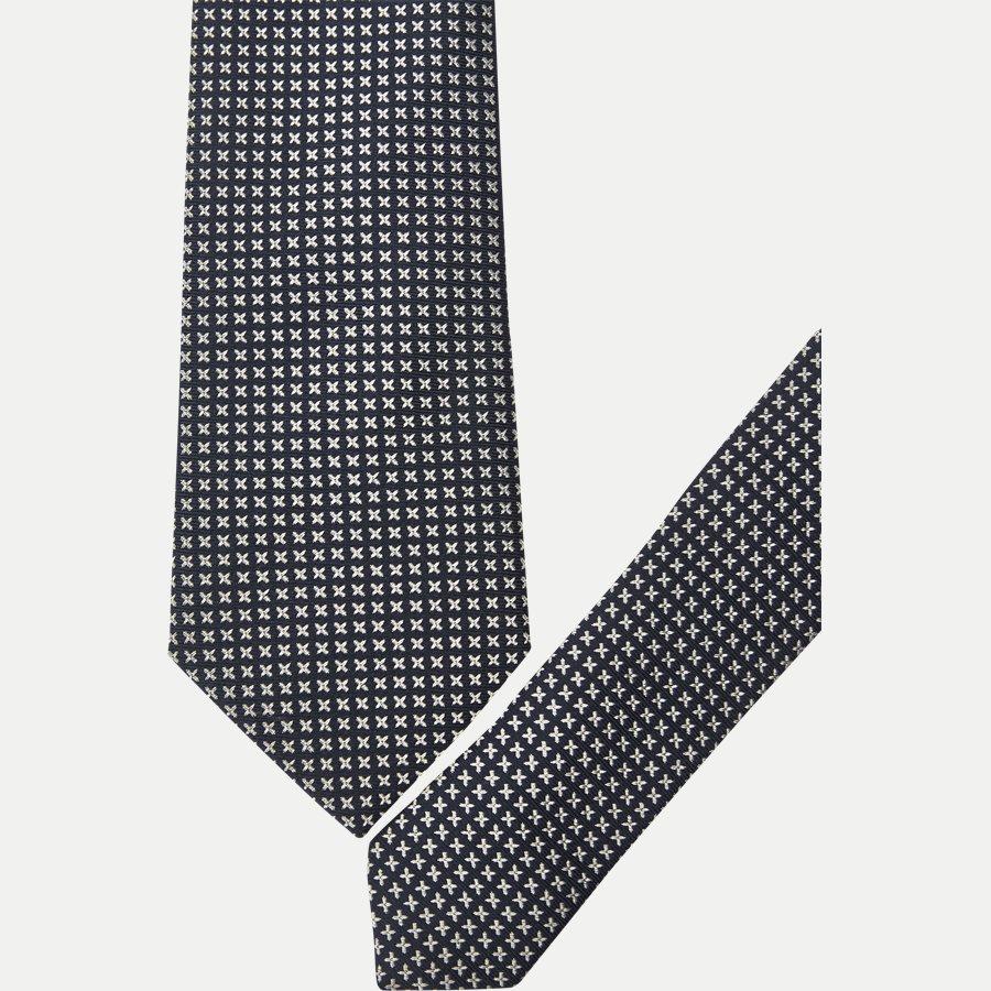 9088CR - Krawatten - NAVY - 2