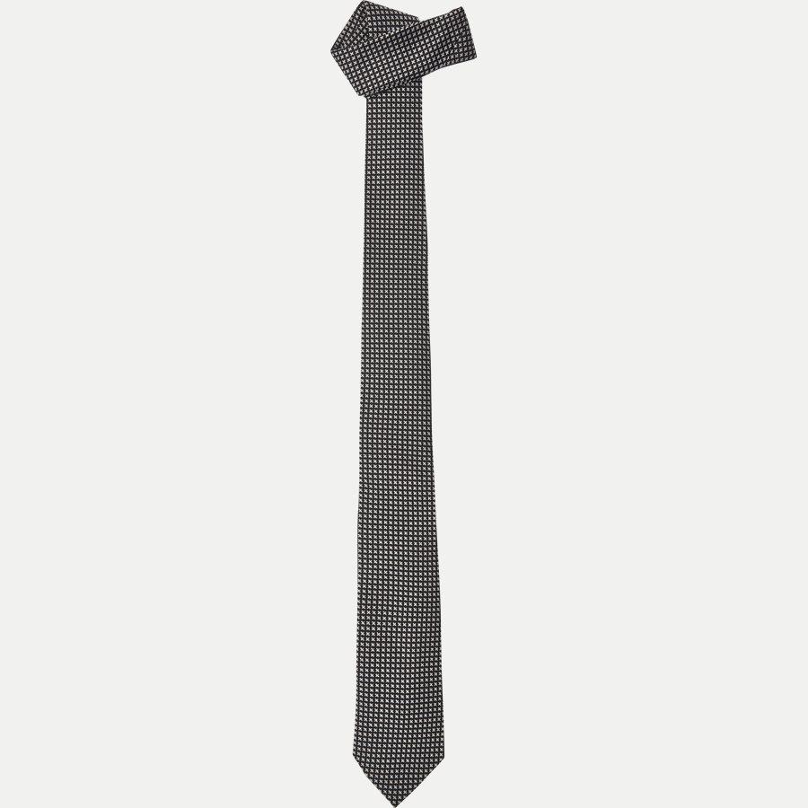 9088CR - Krawatten - SORT - 1