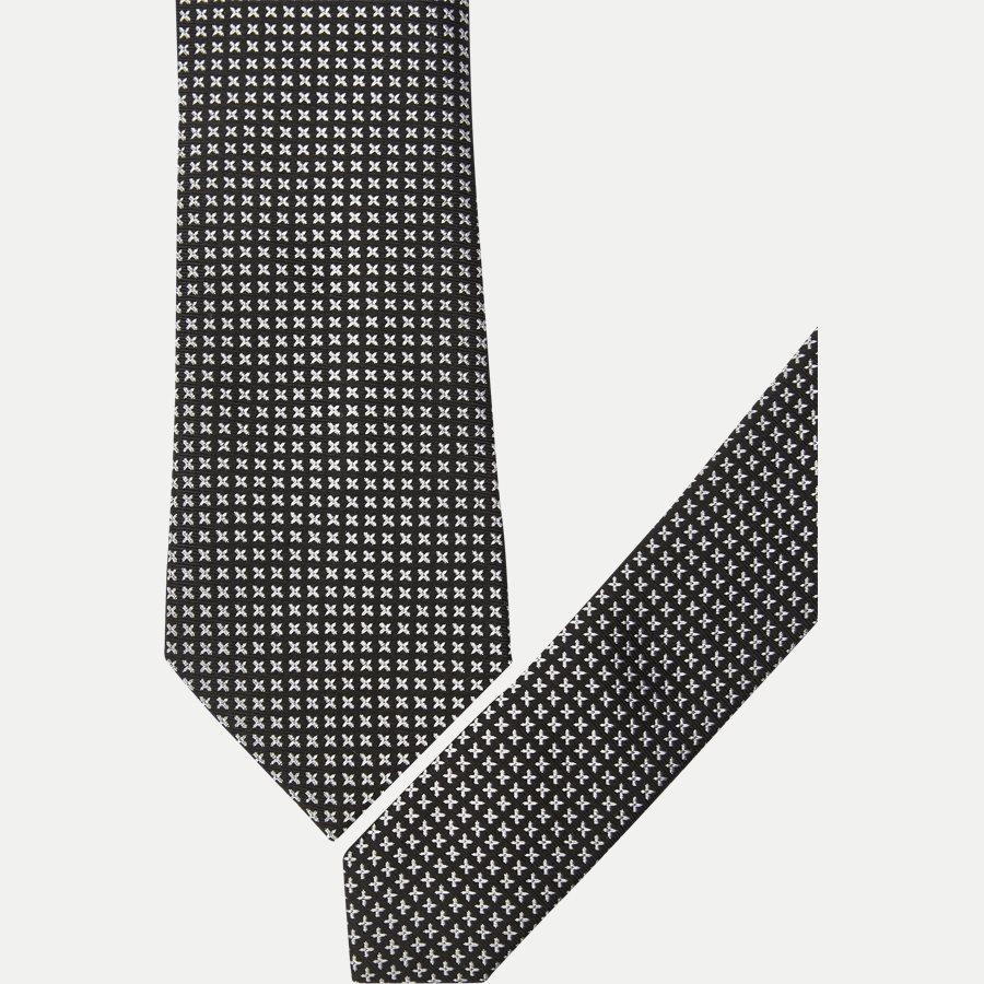 9088CR - Krawatten - SORT - 2