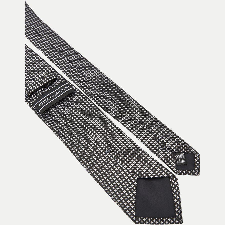 9088CR - Krawatten - SORT - 3