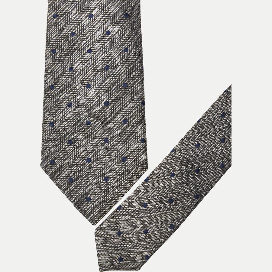 9114CR - Krawatten - GRÅ - 2