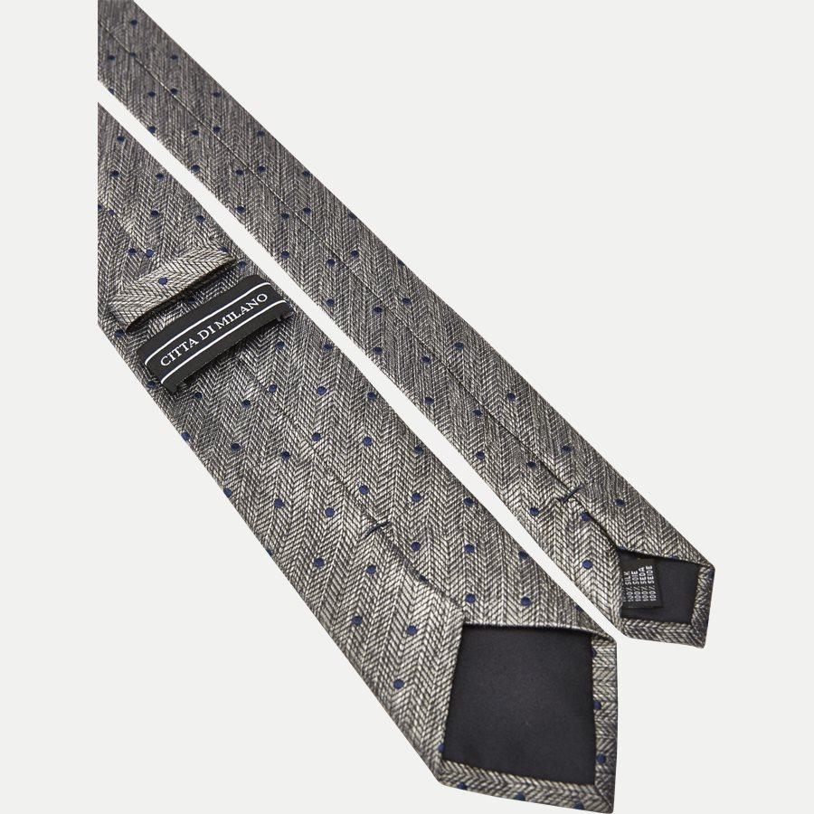 9114CR - Krawatten - GRÅ - 3