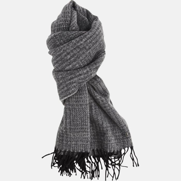 UK053 Y035  halstørklæde  - Tørklæder - Grå