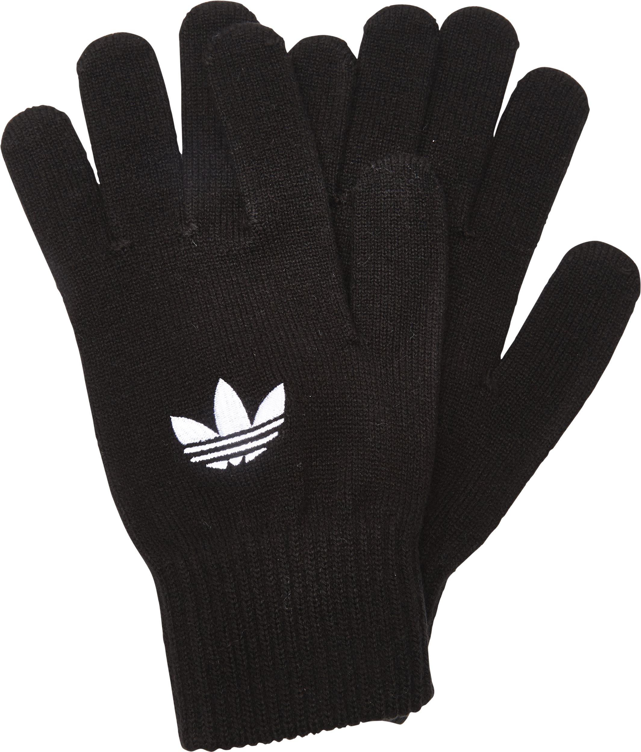 Corte café Absorber  TREFOIL GLOVES AY933 Gloves SORT from Adidas Originals 23 EUR