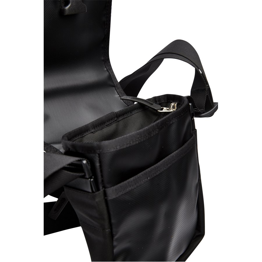 BARDU BAG T0AVAQ - Bardu Skuldertaske - Tasker - BLACK - 3