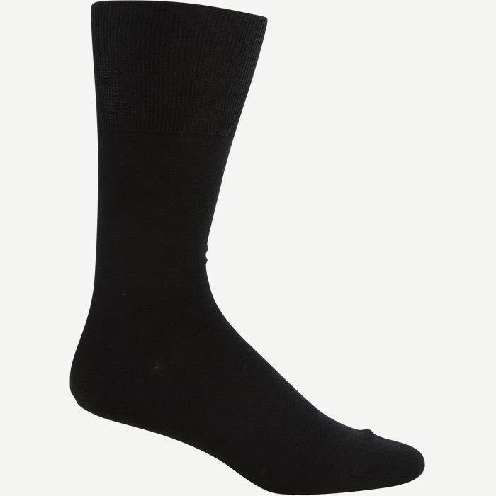 Uld Bomuld Sokker - Strømper - Sort