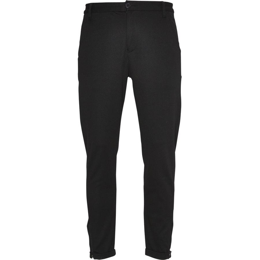 PISA LOU - Pisa Jersey Bukser - Bukser - Regular - SORT - 1