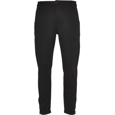 Pisa Jersey Bukser Regular | Pisa Jersey Bukser | Sort