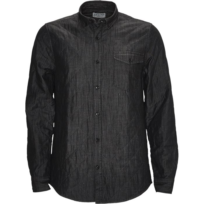 Cole Shirt - Skjorter - Regular - Sort