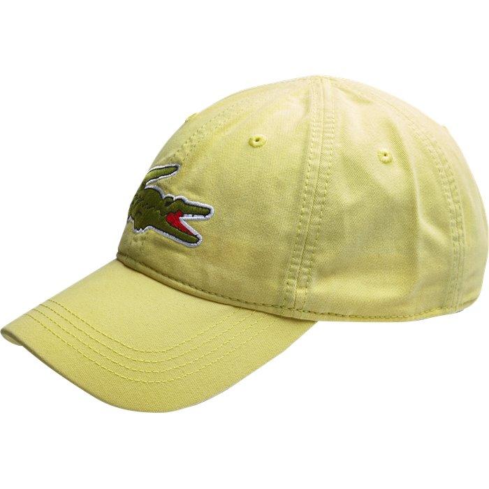 Big Croc Gabardine Cap - Caps - Gul