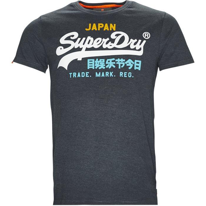 M10014SN T-shirts - T-shirts - Blå