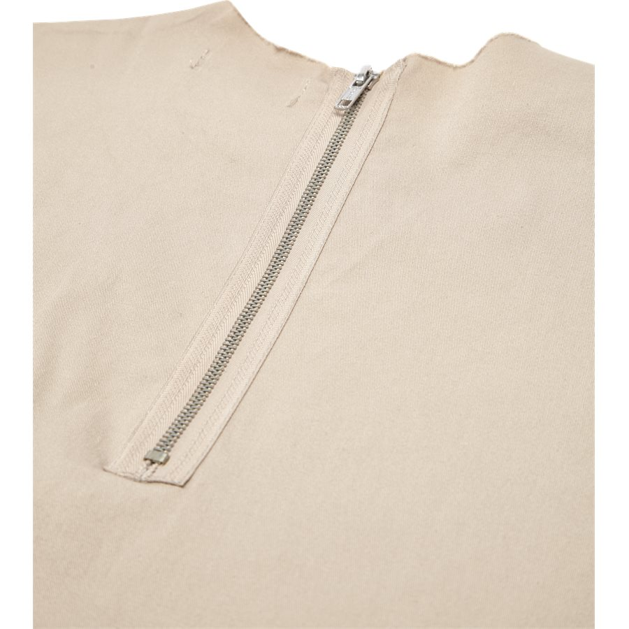 EP 6458 FRAYED WOVEN - EP 6458 FRAYED WOVEN - T-shirts - Oversize fit - SAND - 4
