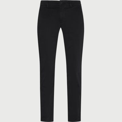 Slim fit | Byxor | Svart