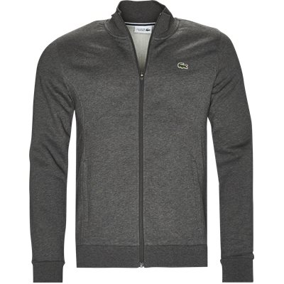 Zip-up Fleece Sweatshirt Regular | Zip-up Fleece Sweatshirt | Grå