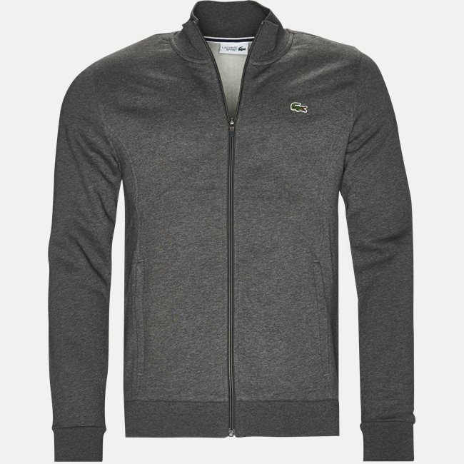 Zip-up Fleece Sweatshirt