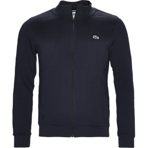 Zip-up Fleece Sweatshirt Regular | Zip-up Fleece Sweatshirt | Blå