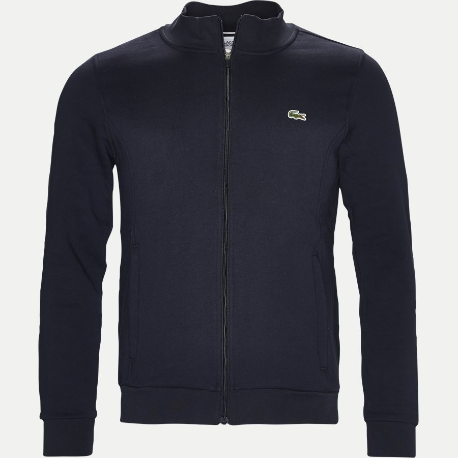 SH7616 - Zip-up Fleece Sweatshirt - Sweatshirts - Regular - NAVY - 1