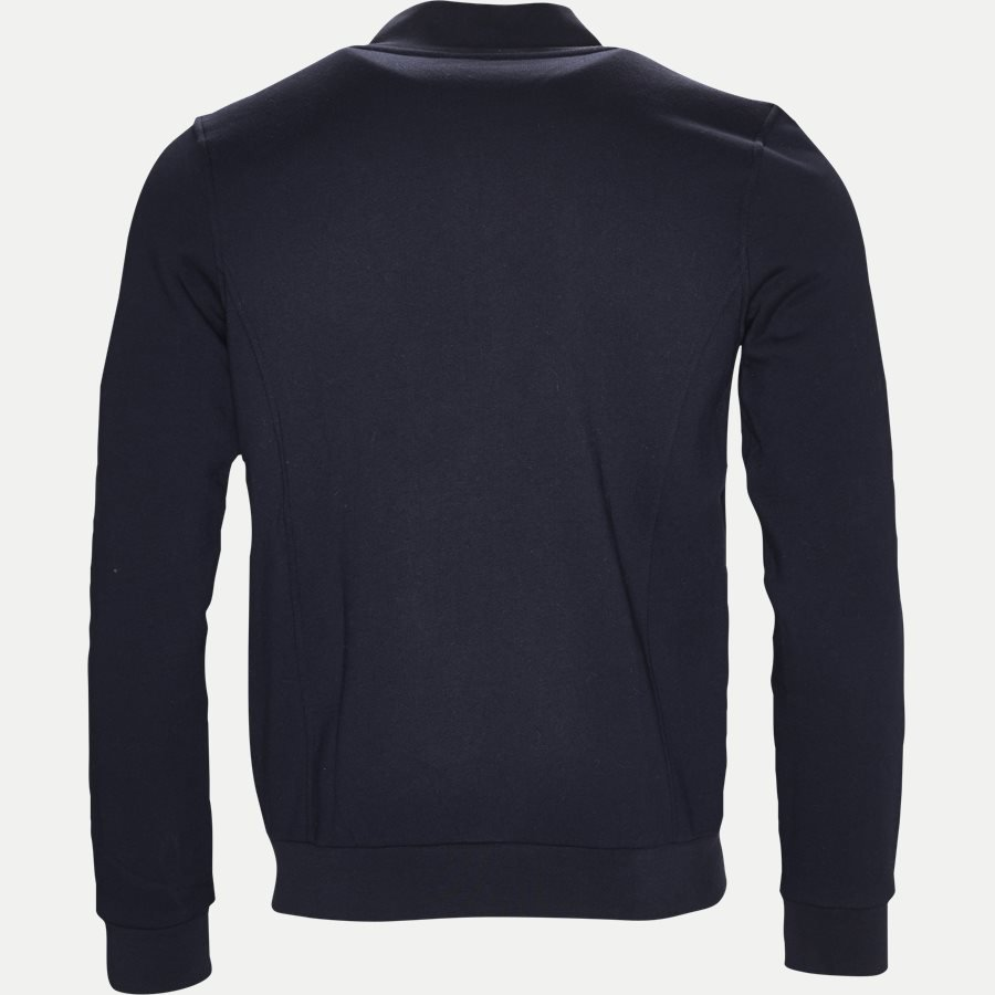 SH7616 - Zip-up Fleece Sweatshirt - Sweatshirts - Regular - NAVY - 2