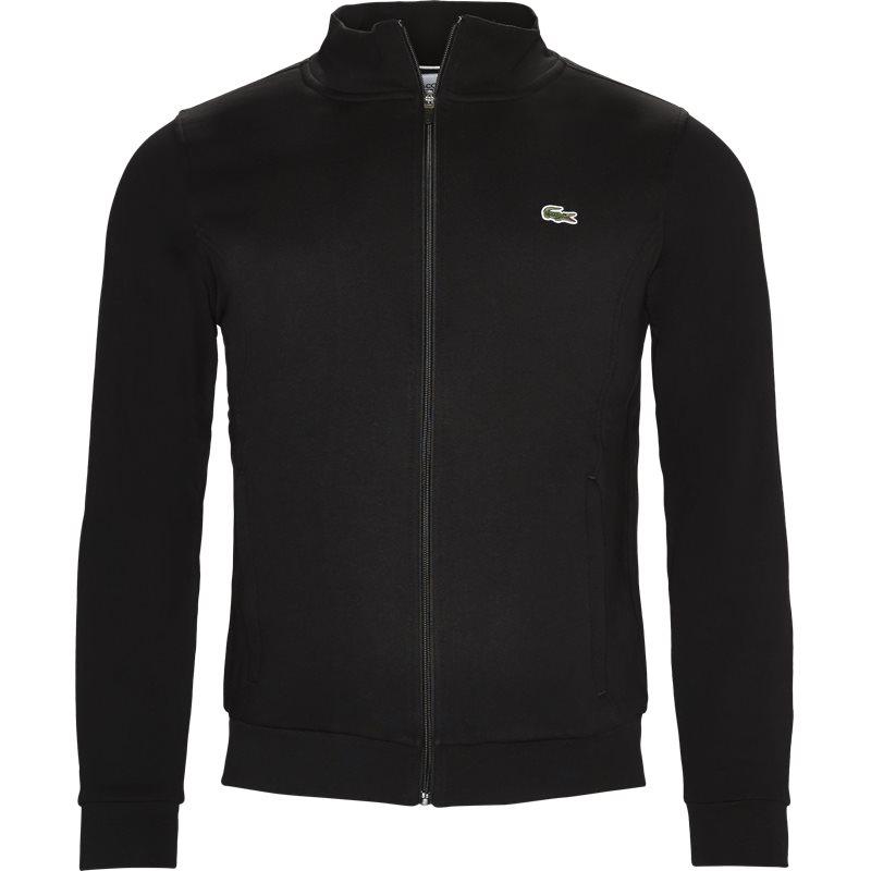 lacoste – Lacoste - zip-up fleece sweatshirt på kaufmann.dk