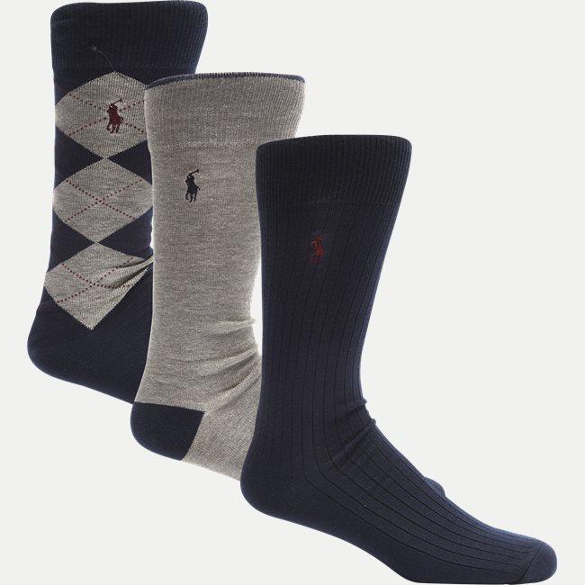 3-pack Argyle Socks