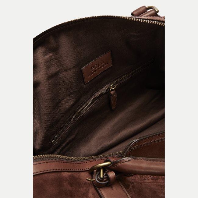 Suede Duffel Bag