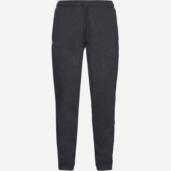 Tennis Fleece Trackpants - Bukser - Regular - Grå