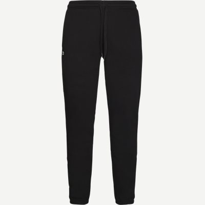 Tennis Fleece Trackpants Regular | Tennis Fleece Trackpants | Sort
