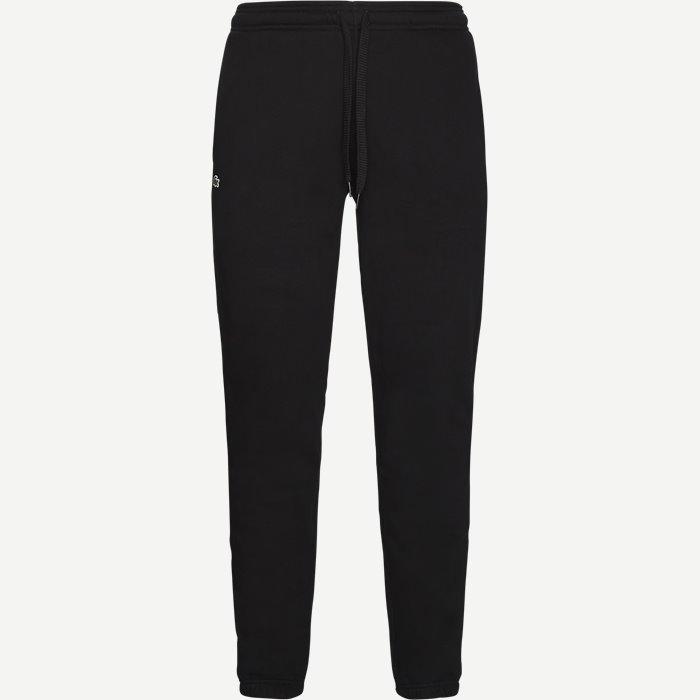 Tennis Fleece Trackpants - Bukser - Regular - Sort