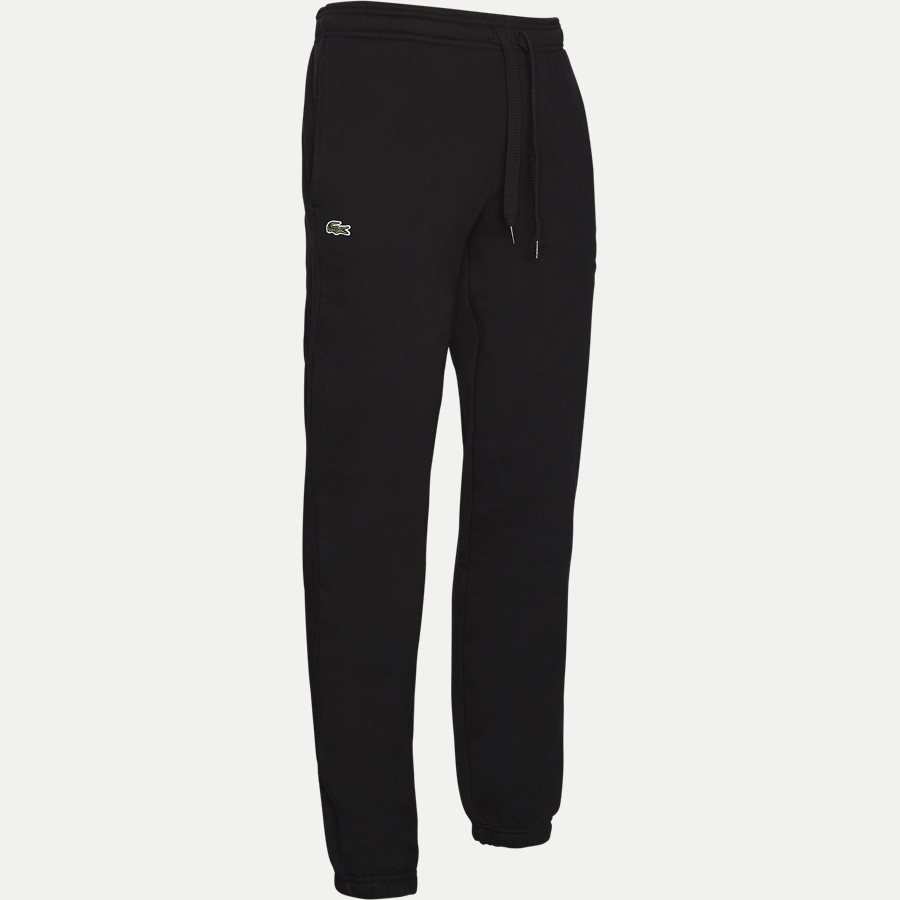 XH7611 - Tennis Fleece Trackpants - Bukser - Regular - SORT - 4