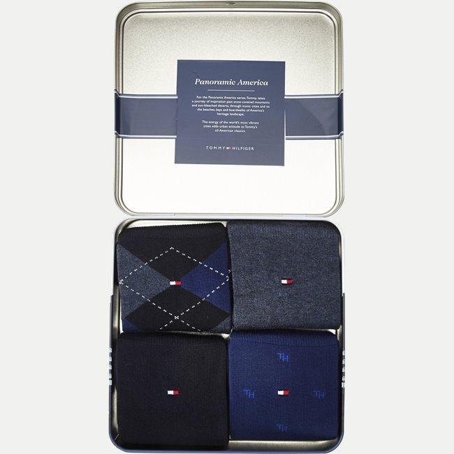 Giftbox 4-pak Sokker