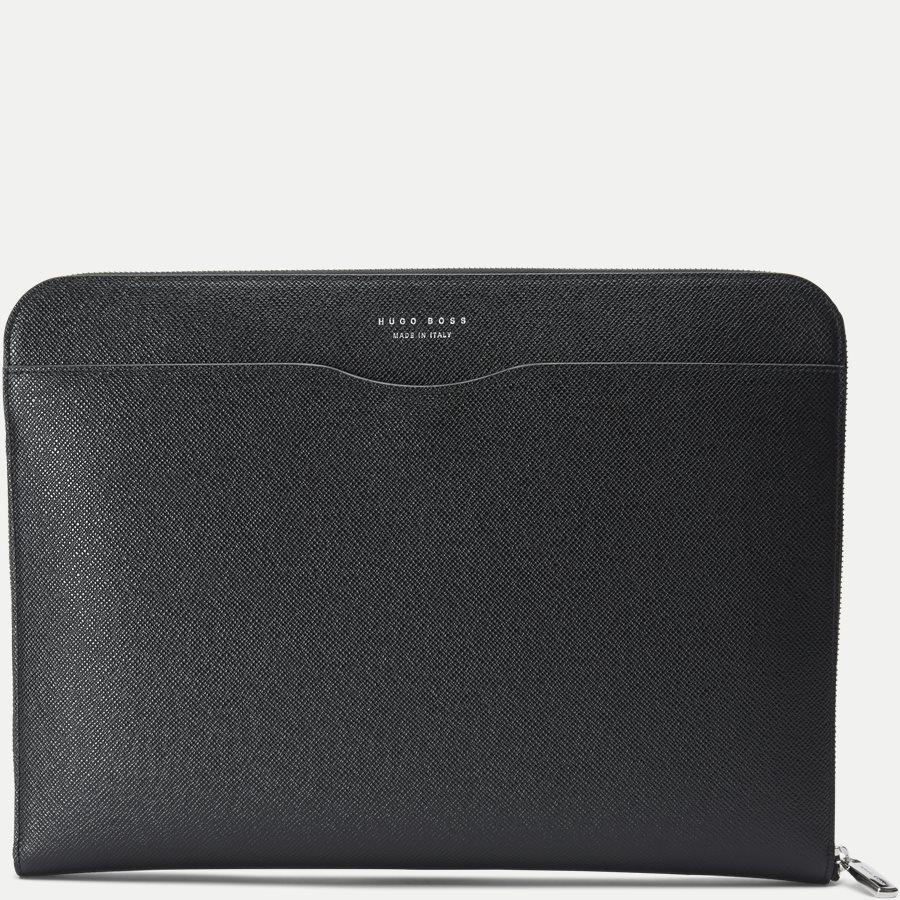 50311836 SIGNATURE_PORTFOLIO - Signature Portfolio Leather Sleeve - Accessories - SORT - 1