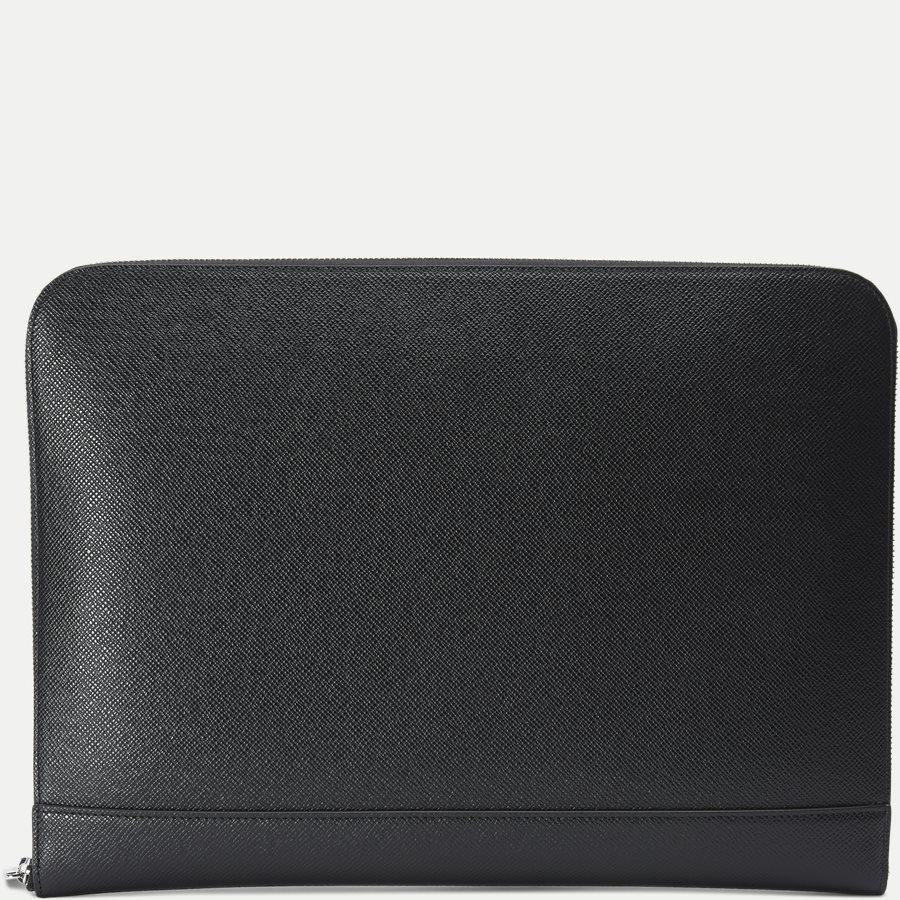 50311836 SIGNATURE_PORTFOLIO - Signature Portfolio Leather Sleeve - Accessories - SORT - 2